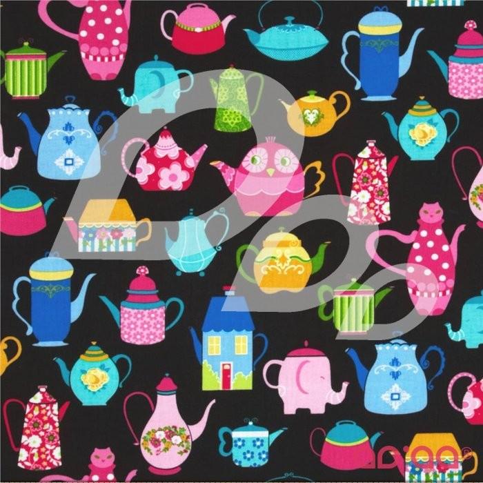 Teapots Black/Multi