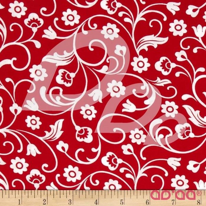 Kanvas Catalina Flora Lina Red