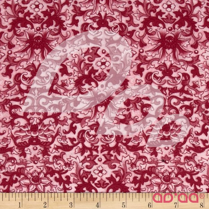 Rebeccas Rose Damask Pink