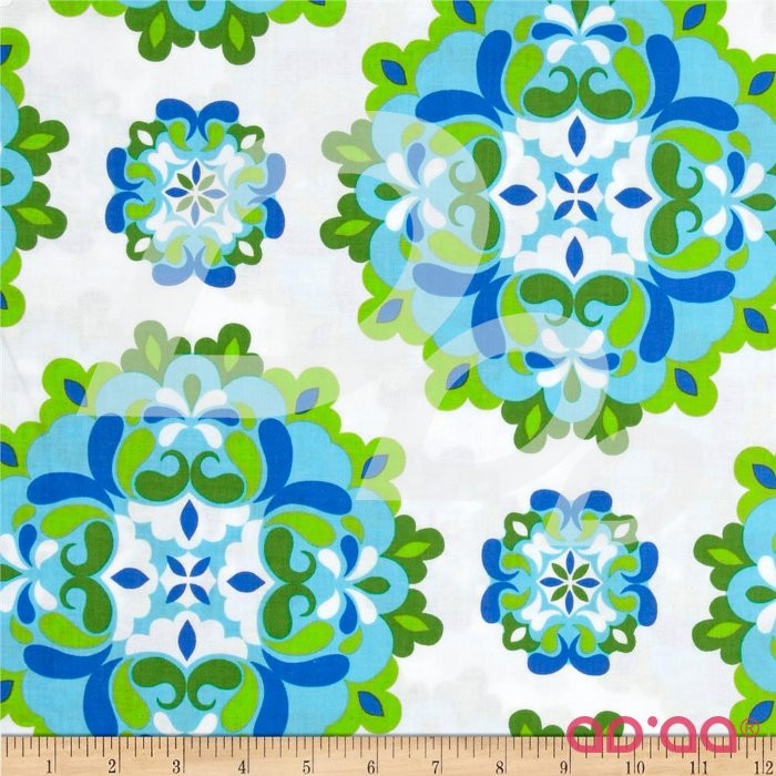 Lili-fied Medley White/Turquoise