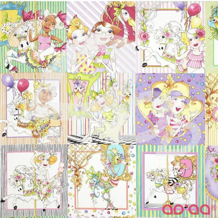 Carousel Patches Multi