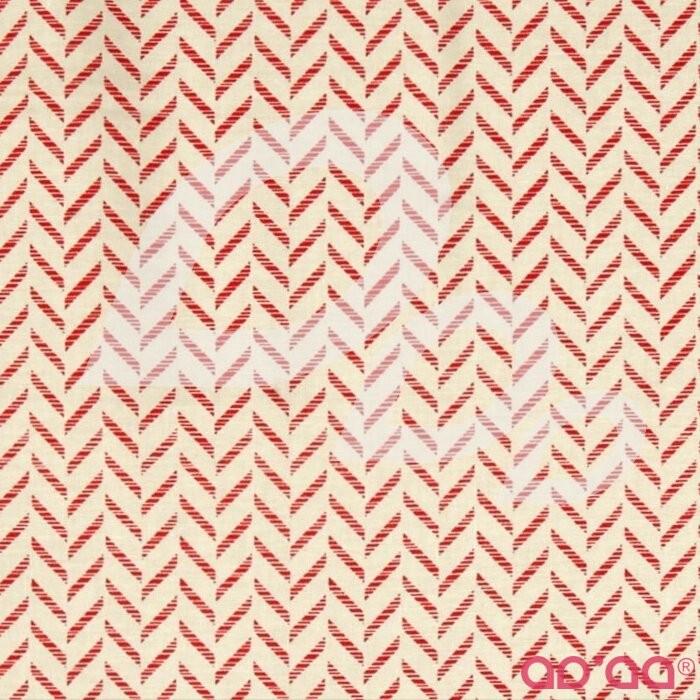 Kanvas Tempo Zig Zag Cream/Red