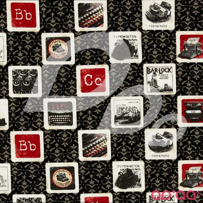 Communique Typewriter Black