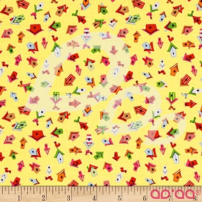 Dear Stella Tiny Birdhouses Yellow