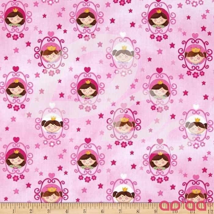 Little Princess Framed Princess Pink