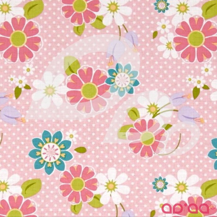 Riley Blake Dream and a Wish Floral Pink