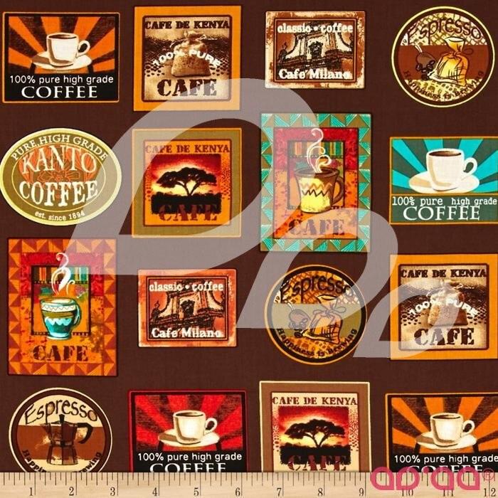 Kanvas Jumping Java Coffee Labels Coffee