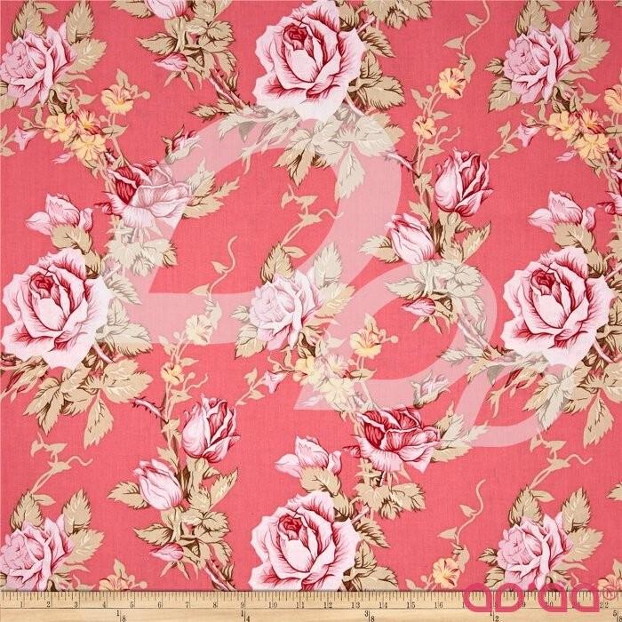 Verna Mosquera Rustic Blush Antique Rose Berry