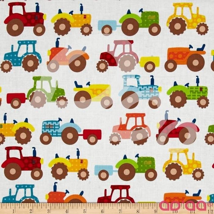 Apple Hill Farm Tractors Cream
