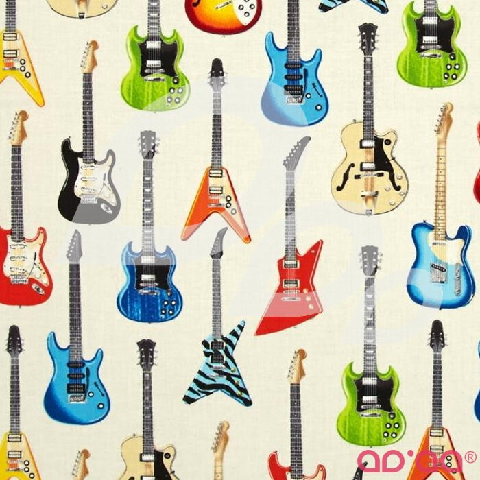 Kaufman In Tune Electric Guitars Ivory