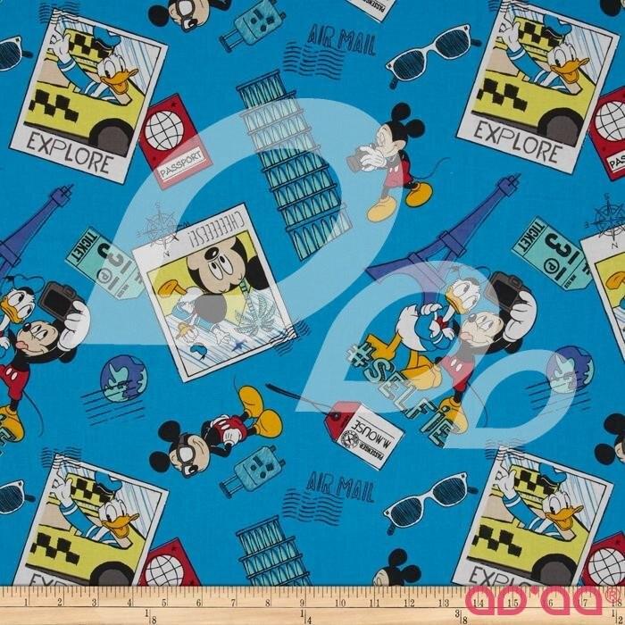 Disney Mickey Say cheese # Selfie Blue