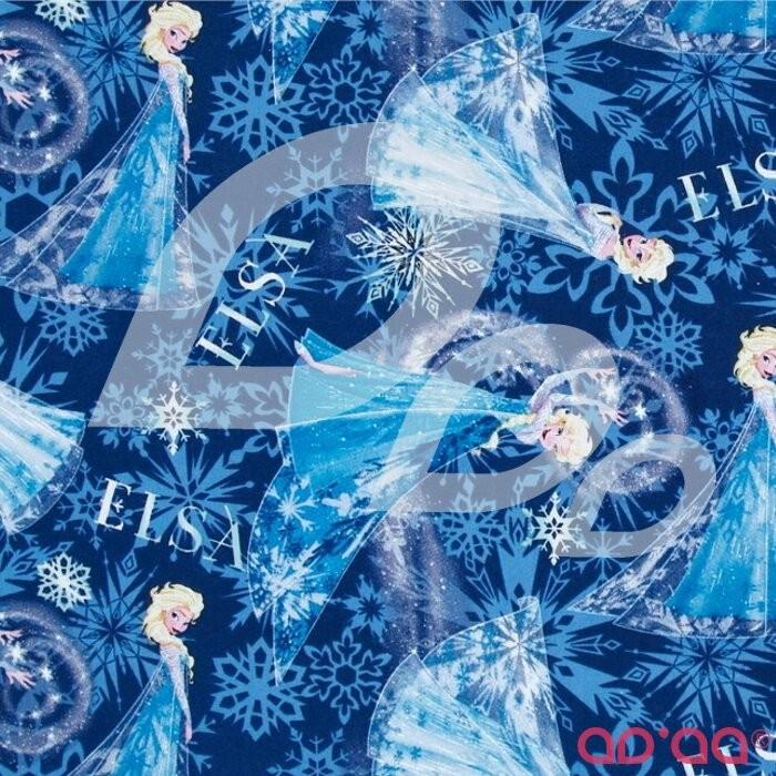 Disney Frozen Elsa Allover Blue
