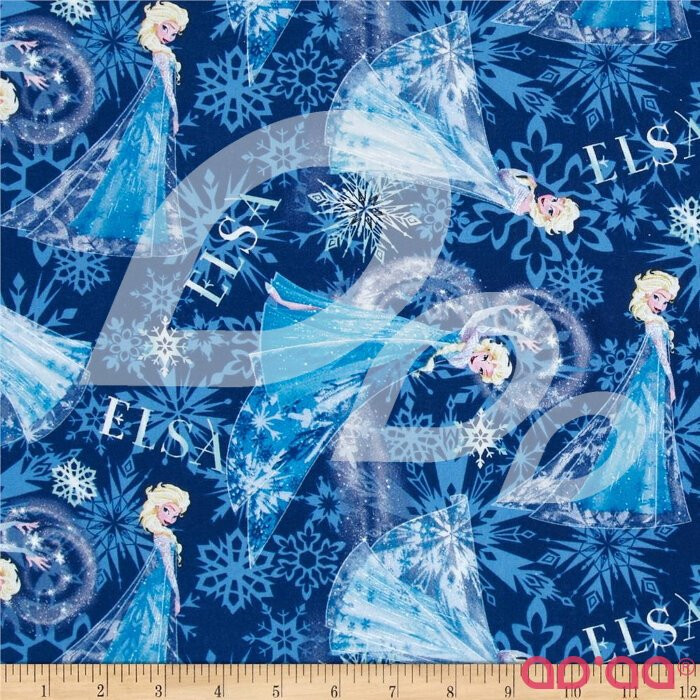 Disney Frozen Elsa Allover Blue