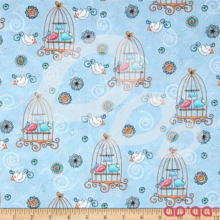 Bird Wise Birdcage Blue