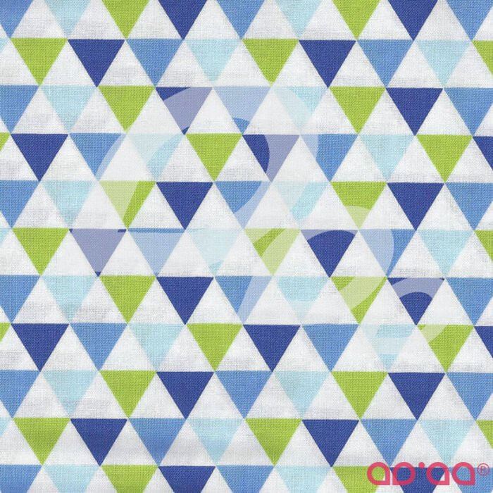 Remix Triangles Royal Blue
