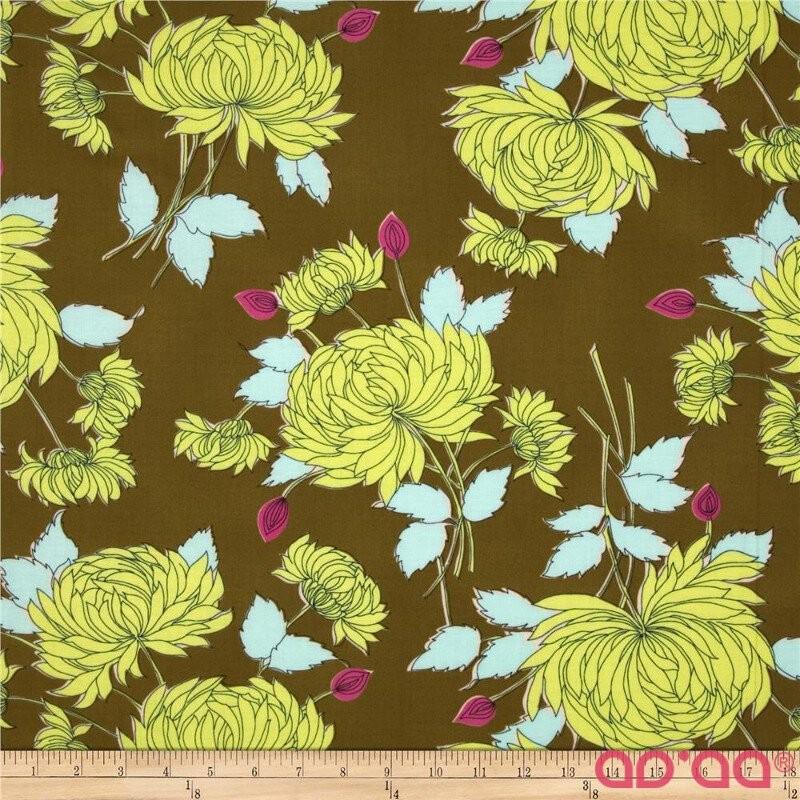 Amy Butler Belle French Wallpaper Olive