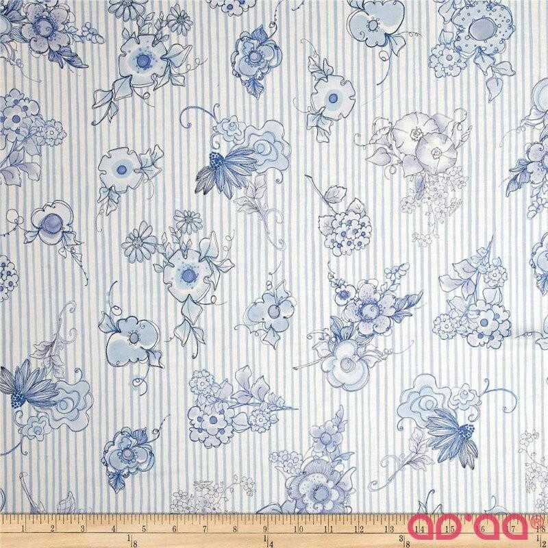 Flora Bleu Bloomers Stripes Blue