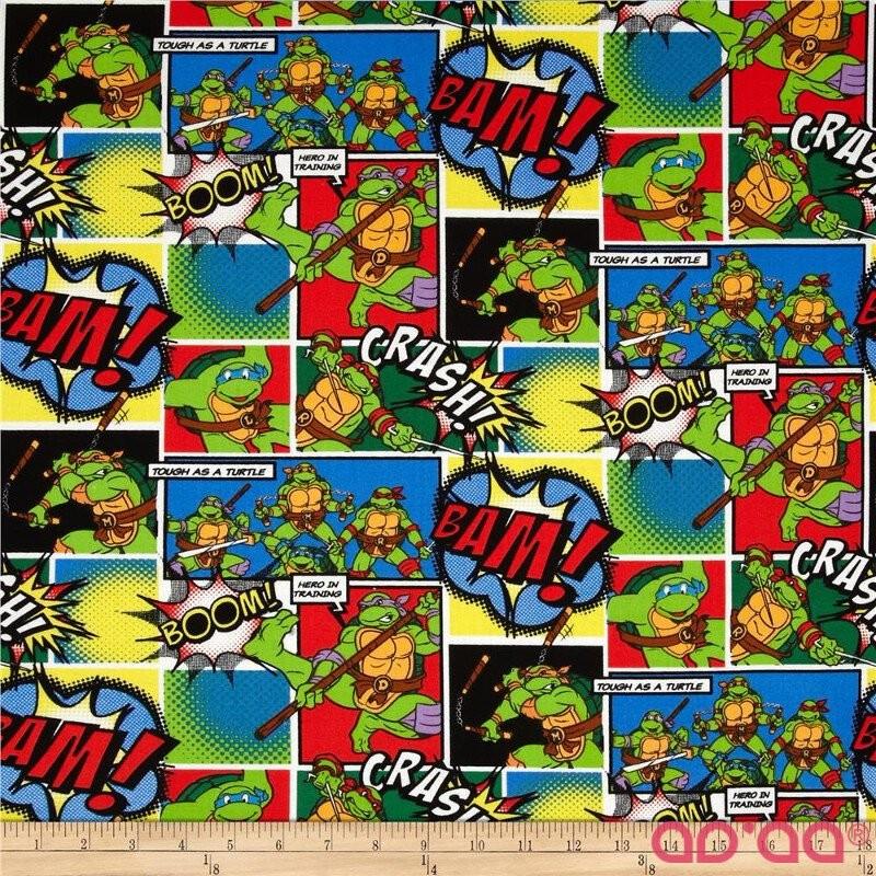 Nickelodeon Teenage Mutant Ninja Turtles Comic Patch Multi