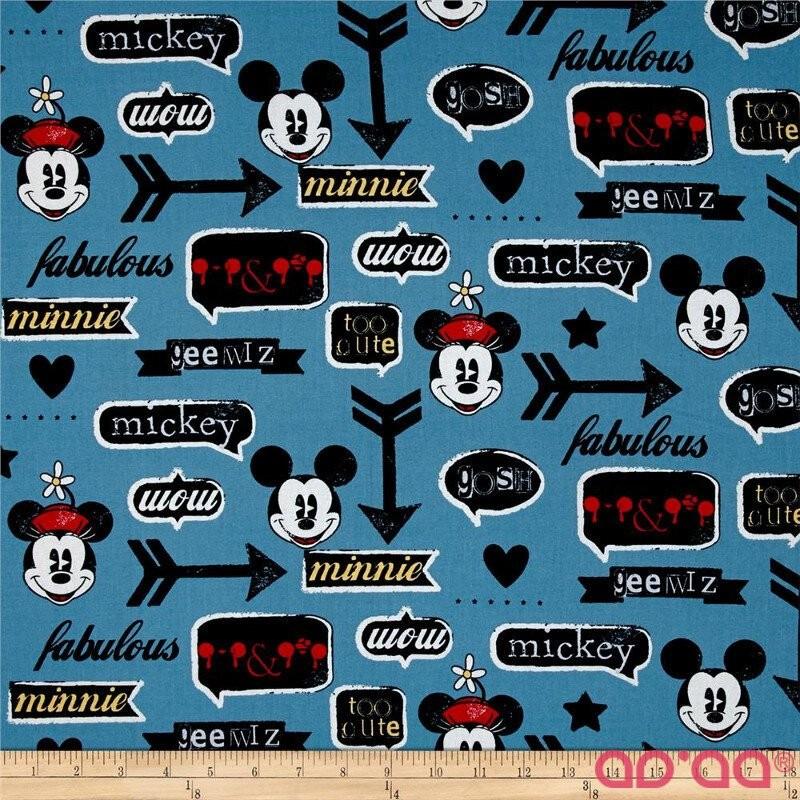 Disney Mickey and Minnie Vintage Icons Blue