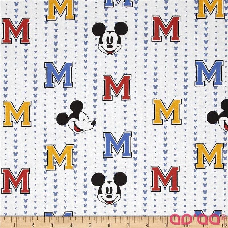 Disney Mickey All Star Stripe White
