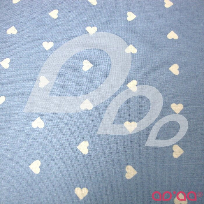 Light Blue hearts