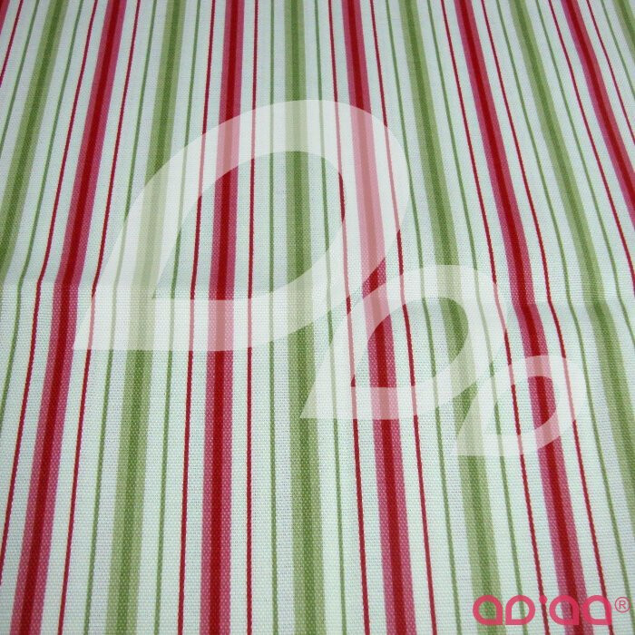 Stripes green and red