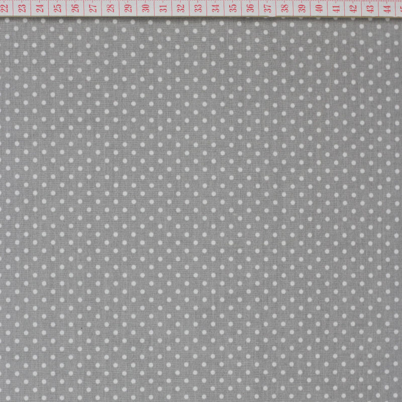 White dots in gray