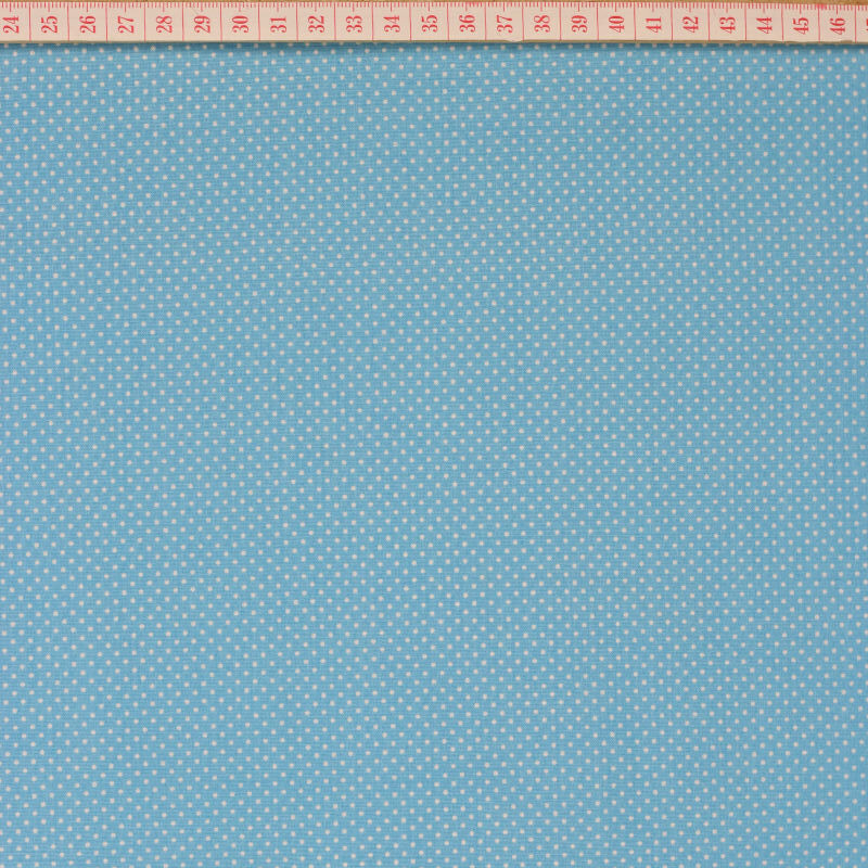 hite little dots in teal