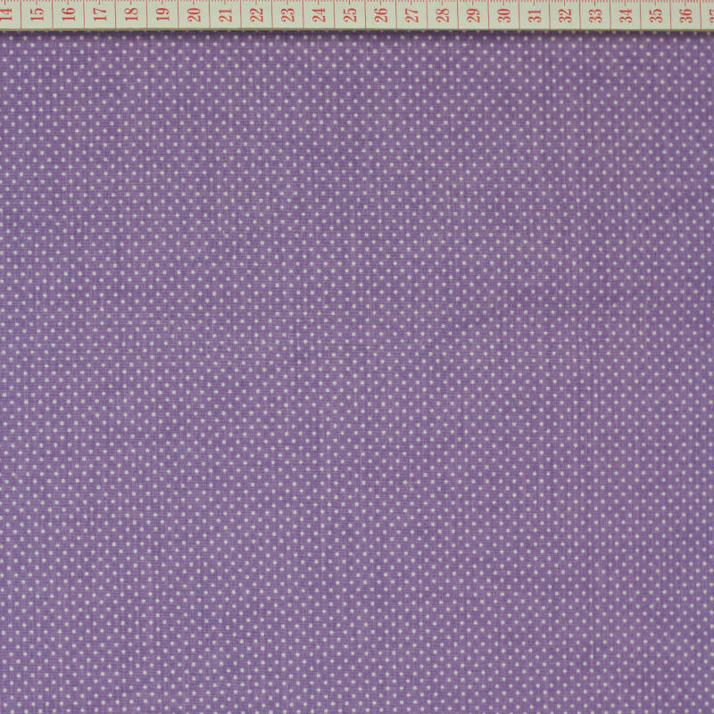 White little dots in lilac
