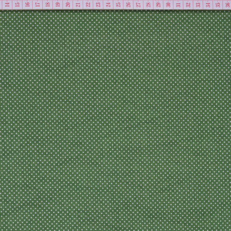 White little dots in olive green