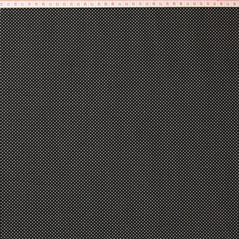 White little dots in black