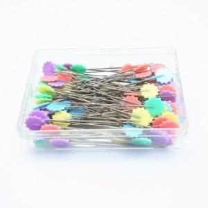 Caixa de Alfinetes Patchwork Estrelas com 100 alfinetes