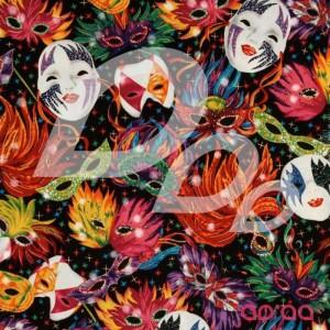 Celebrations Mardi Gras Masks Black