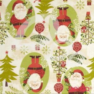 Woodland Christmas Santa Cream