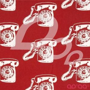 Contempo Vintage Scrapbook Call Me Red