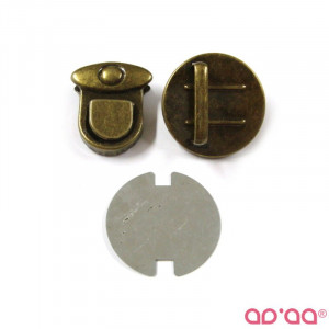 Fecho 2cm – bronze