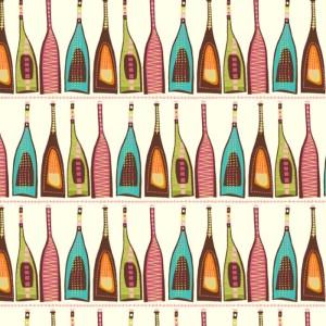 Bottles in Cream