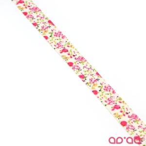 Fita com Flores 1,5cm