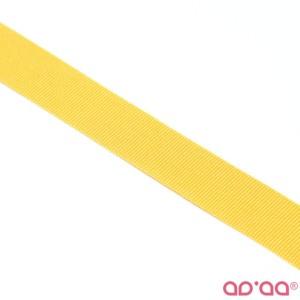 Fita Gorgurão Amarelo Torrado 18mm