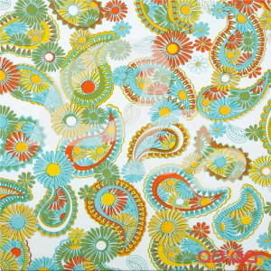 Lovelorn Paisley Yellow