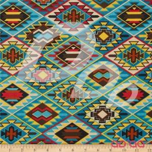 Mesa Verde Indian Blanket Turquoise