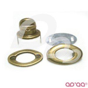 Fecho Carteira Bronze 35 mm