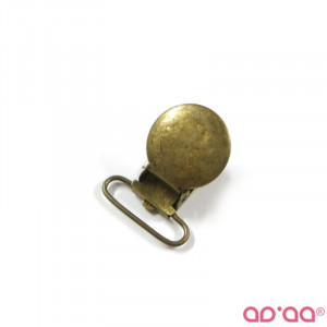 Mola redonda 2,5cm – bronze