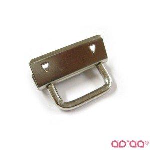 Fecho porta chaves 3cm – prata