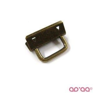 Fecho porta chaves 3cm – bronze
