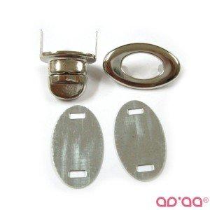 Fecho 3cm – prata