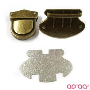 Fecho 5cm – bronze