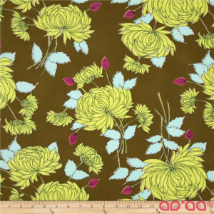 Amy Butler Belle French Wallpaper Olive
