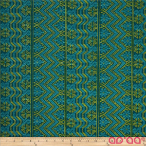 Amy Butler Bright Heart Cosmo Weave Teal
