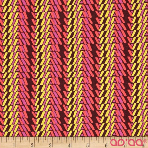 Amy Butler Bright Heart Rhythm Stripe Carme